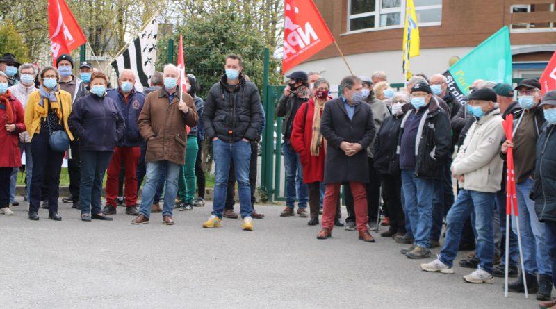 Une centaine de personnes en soutien à Matthieu Guillemot