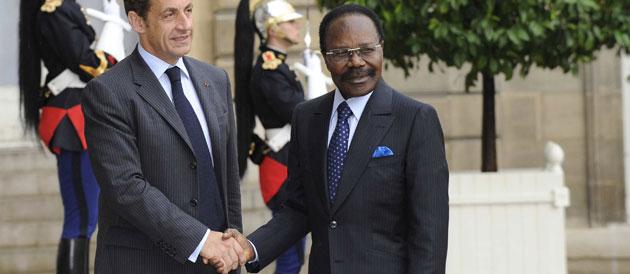 Omar Bongo, symbole de la Françafrique