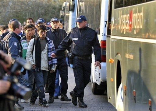 29.000 sans-papiers expulsés en 2009 par la France