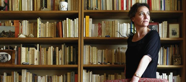 La escritora francesa Anne Serre.
