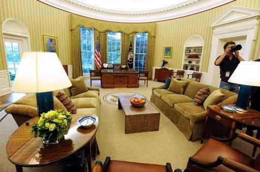 Obama fait redécorer le célèbre Bureau ovale de la Maison Blanche