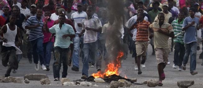 Image result for manifestations en haiti