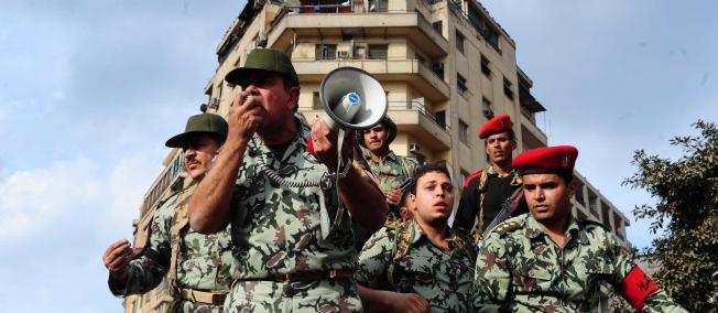 ÉGYPTE - L'appel de l'armée aux Égyptiens