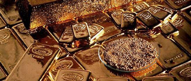 L'or vaut aujourd'hui 1 310 euros l'once.