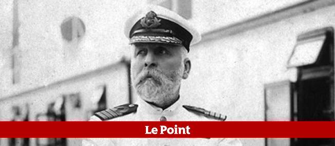 "Le capitaine du ""Titanic"", Edward John Smith."