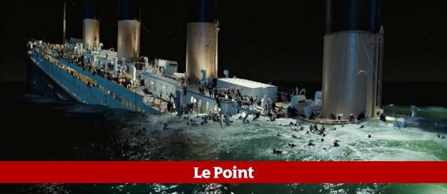 """La version 3D de """"Titanic"""" de James Cameron."""