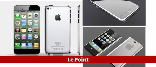Alors que Samsung s'apprête à dévoiler son prochain modèle star, la sixième génération de l'iPhone fait l'objet de nombreuses attentes et spéculations. (Photomontage)