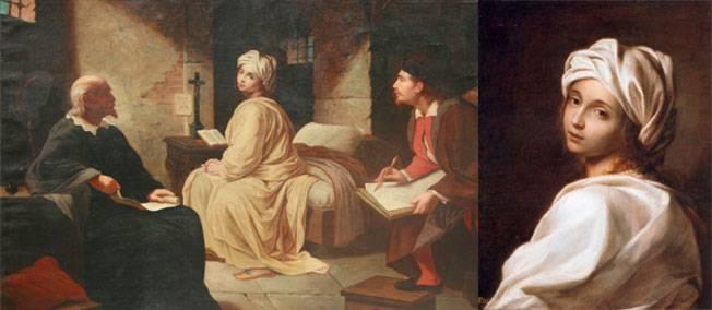 11 septembre 1599. Exécution de Beatrice Cenci, meurtrière de son père... incestueux.