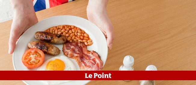 "Un typique ""breakfast"" anglais."