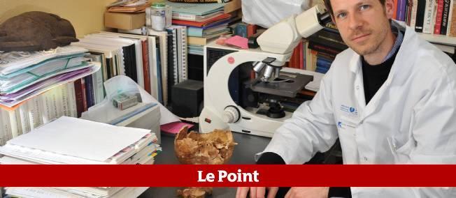 Philippe Charlier. Médecin légiste, anatomo-pathologiste et paléopathologiste, le 6 mars 2012 à Paris.