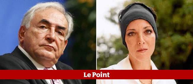 Dominique Strauss-Kahn et son ancienne maîtresse, l'écrivain Marcela Iacub, qui publie un livre racontant leur liaison.
