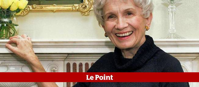 Alice Munro à New York, en 2009.