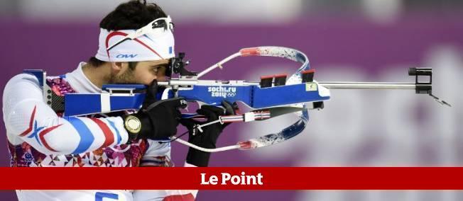 Martin Fourcade peut obtenir sa deuxième médaille des JO de Sotchi, jeudi.