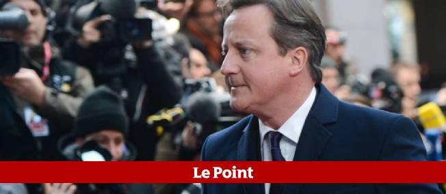 Le Premier ministre britannique, David Cameron, le 19 décembre 2013, à Bruxelles.