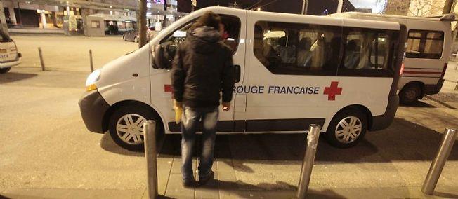 Un SDF mort de froid à Douai. Photo d'illustration.