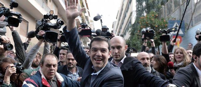 Syriza sortirait largement vainqueur des législatives grecques.