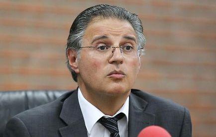 Le directeur de la PJ parisienne Bernard Petit le 23 juin 2012 à Bobigny
