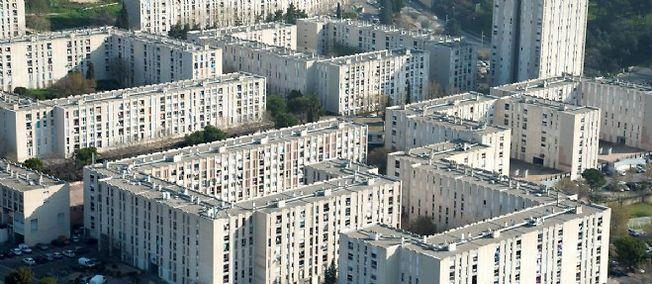La cité de la Castellane à Marseille.