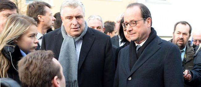 Le maire de Boulogne-sur-Mer recevait le président en décembre dernier.
