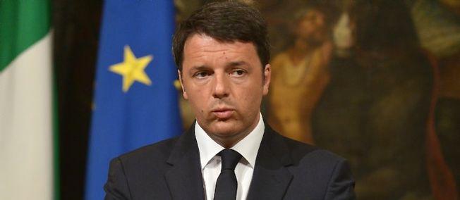 Matteo Renzi, le chef du gouvernement italien, s'inquiète des naufrages de migrants en Méditerranée.