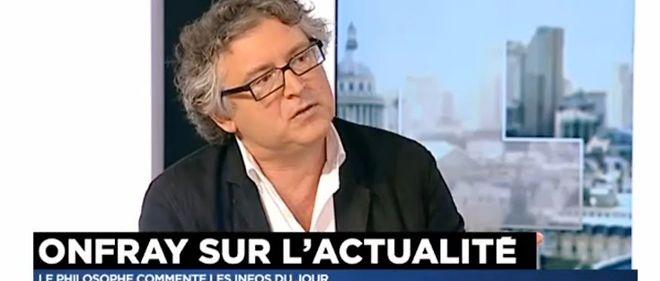 Michel Onfray rejoint l'appel de Marc Lavoine en faveur des migrants.