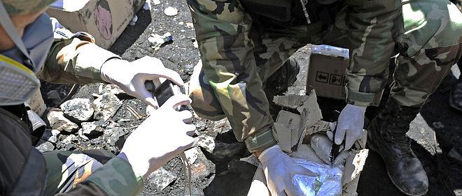 """25 kilos de cocaïne """" se trouvaient dans l'espace réservé"""" à l'airbag d'un véhicule à bord duquel circulaient deux personnes. Photo d'illustration."""