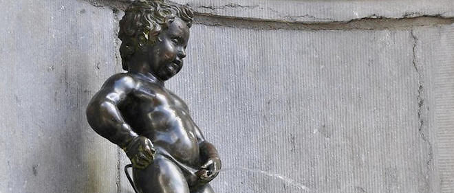 Réalisée par le sculpteur Jérôme Dulquesnoy en 1619, la statuette du Manneken Pis est devenue le symbole de la capitale belge.