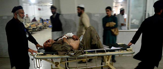 De nombreux blessés ont été transportés à l'hôpital (photo d'illustration).