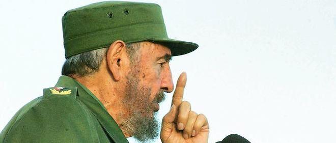 L'ex-président cubain Fidel Castro en 2006.