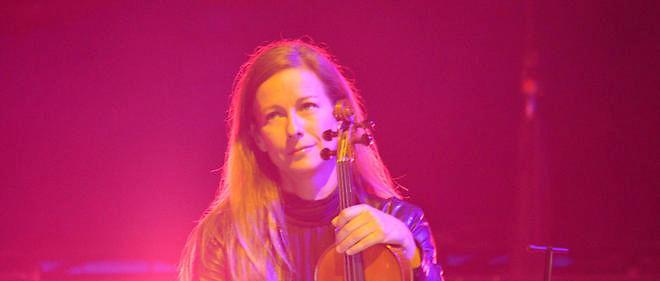Anne Gravoin au concert de Florent Pagny en juillet 2015 à La Rochelle. Image d'illustration.