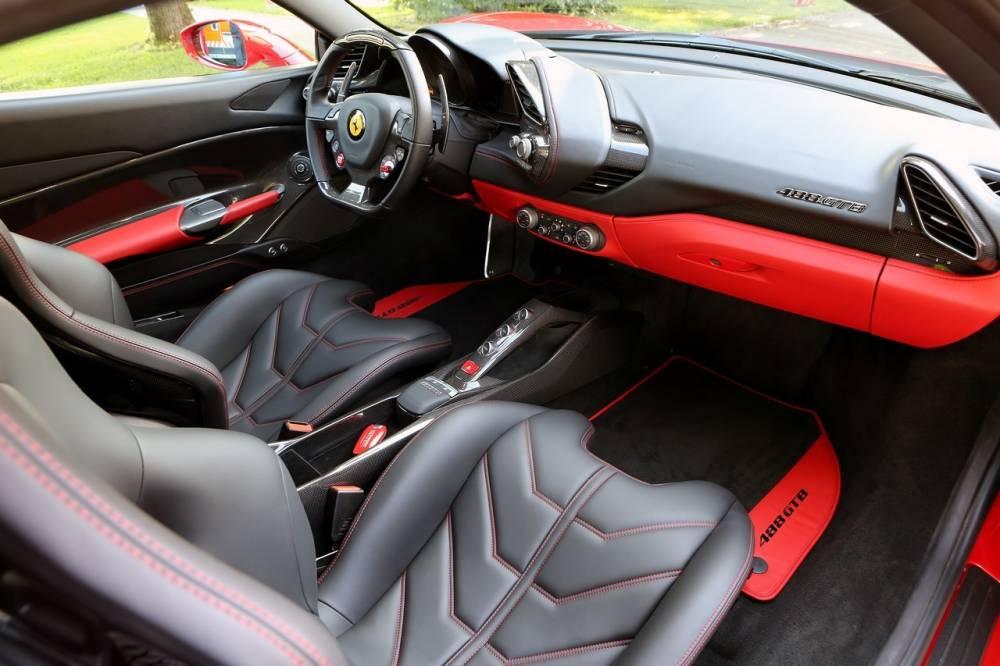 Ferrari 488 GTB Cest Notre Moteur De Lanne Automobile