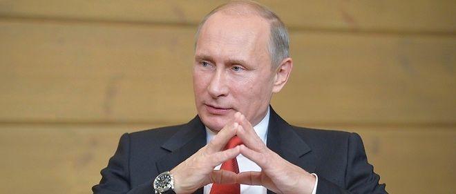 Vladimir Poutine en 2015. Le président russe espère bien voir lever les sanctions européennes qui le frappent depuis l'invasion de la Crimée.