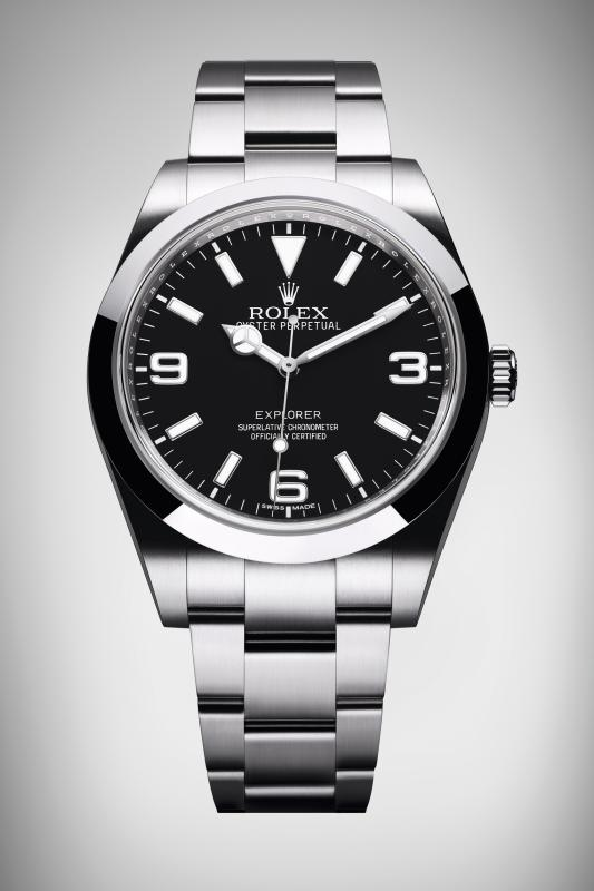 Explorer Oyster Perpetual 214270 - Le Point Montres