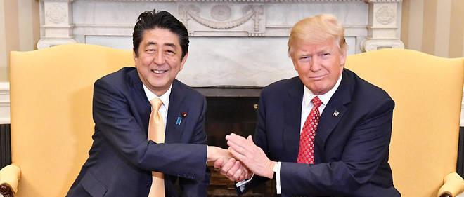 """Résultat de recherche d'images pour """"Donald Trump  Shinzo Abe"""""""