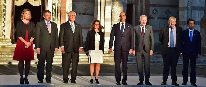 Les ministres des Affaires étrangères du G7 sont réunis à Lucques, en Toscane.