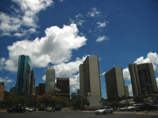 A Honolulu, lire son smartphone ou traverser, il faut choisir