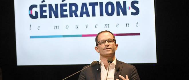 Benoît Hamon vise l'union des gauches avec son mouvement Génération·s.