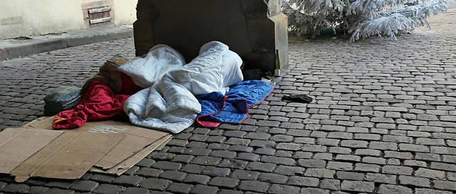Les sans-abri sont environ 3 000 à Paris selon un décompte dévoilé par Bruno Julliard. (Illustration)