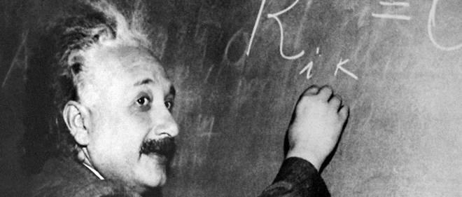 Mort en 1955, Albert Einstein est notamment connu pour son equation E=mc?.