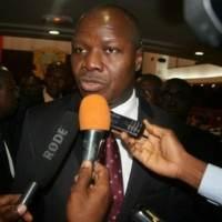 Le ministre d'Etat, ministre du Plan et du Développement Abdallah Albert Toikeusse Mabri…