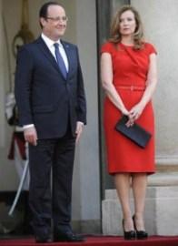 François Hollande et Valérie Trierweiler (Ph: Dr)