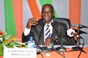 Le président de la Confédération générale des entreprises de Côte d'ivoire
