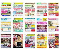 Quelques journaux ivoiriens (Ph: Dr)