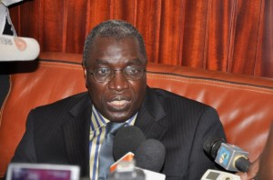 Le ministre Koffi Koffi (Ph: Dr)