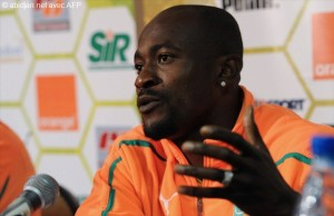 Zokora Didier footballeur international (Ph: Dr)