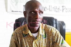 Le président du Syndicat national des fournisseurs de l'Etat de Côte d'Ivoire (Synafeci), Gré Faustin (Ph: Dr)