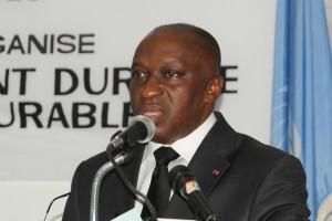 Le ministre Allah Kouadio Rémi (Ph:Dr)