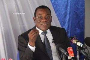 Le président du FPI, Pascal Affi N'Guessan (Ph: Dr)