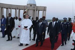 Messe en mémoire du 1er président de la Côte d'Ivoire, Feu Félix Houphouët-Boigny à la Basilique ``Notre Dame de la Paix`` .
