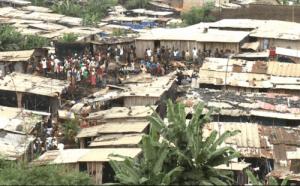 L'un des quartiers à hauts risques à Abidjan (Ph: Dr)